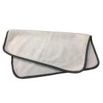 Полотенце, двойное полотно, для полировки, 40х40, 400gsm