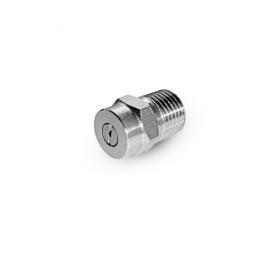 Форсунка 15080 (сила удара-100%), 1/4внеш, нерж.сталь